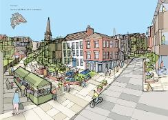 An image relating to Stoneygate plan is adopted