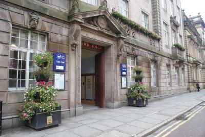 Preston Town Hall Exterior