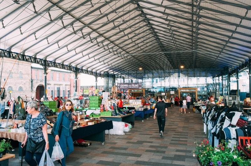 Preston outdoor Market Hall