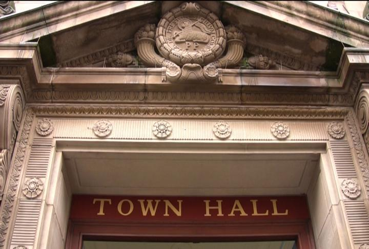 Town Hall entrance