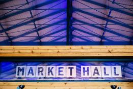 An image relating to The Harris and Preston Markets to light up purple to support the fight against racism.