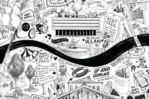 Towns Fund collage of Preston landmarks