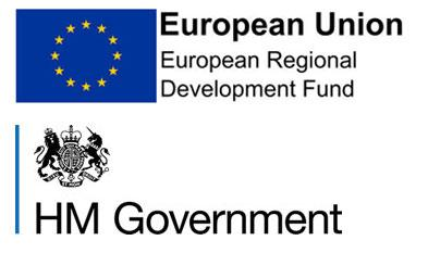 HM Government and European Union logo together