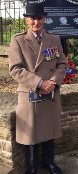 An image relating to Retired Veterans Council President honoured by City of Preston