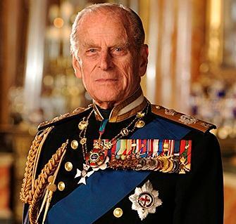 HRH Prince Phillip - Front
