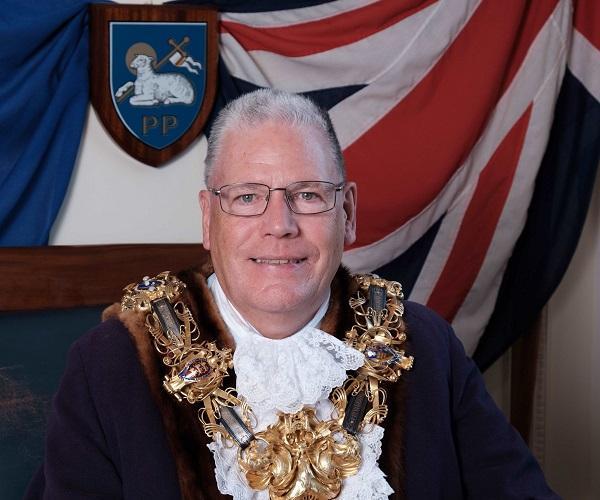Mayor of Preston, Councillor David Borrow